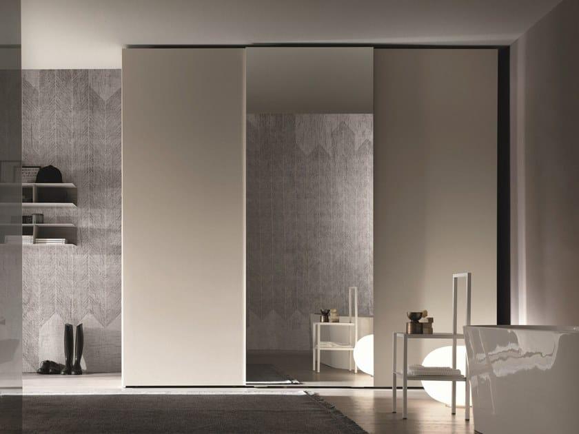 Lacquered mirrored wardrobe GOLA | Mirrored wardrobe by Gruppo Tomasella