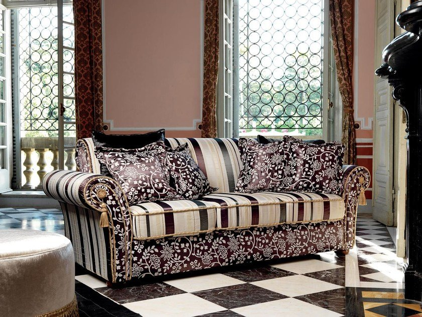 3 seater fabric sofa GOLDEN | 3 seater sofa by Domingo Salotti