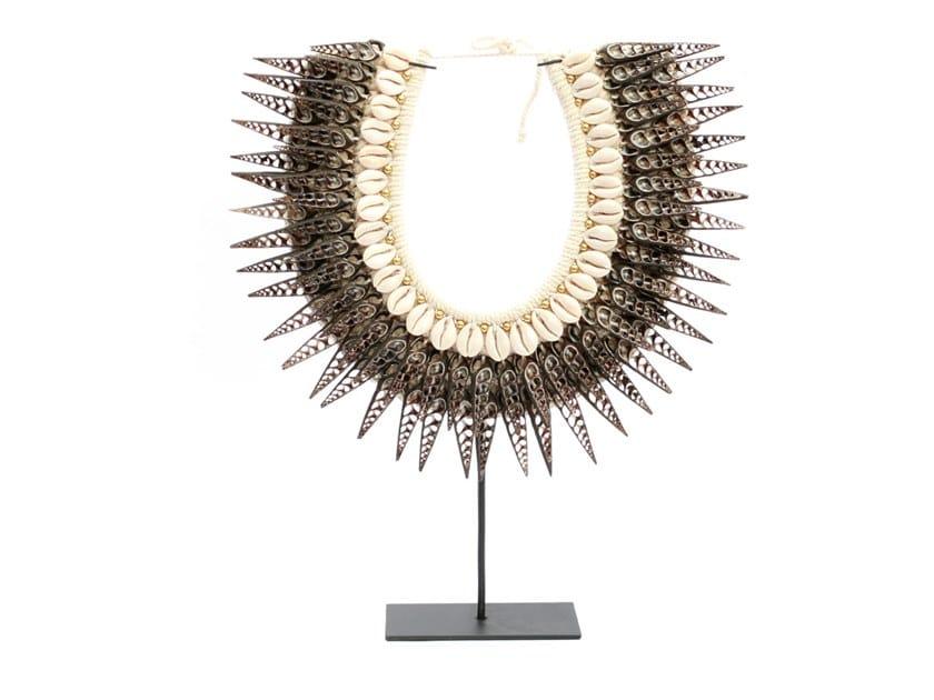 Metal decorative object GOLDEN BLACK HORN by Bazar Bizar