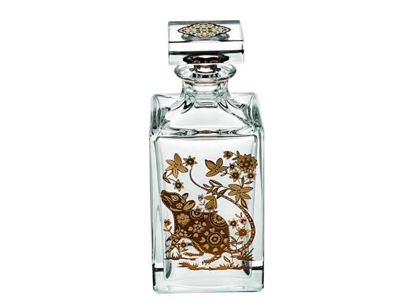 Crystal decanter GOLDEN RAT | Decanter by Vista Alegre