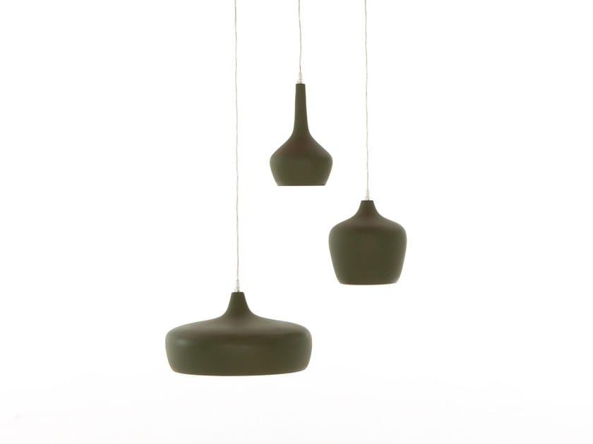 Ceramic pendant lamp GOLDIE by Tonin Casa