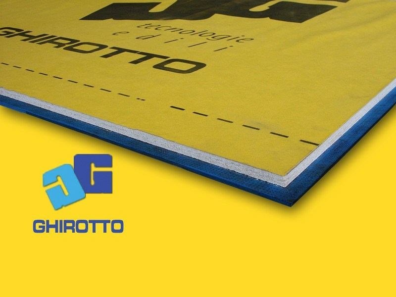 Sound insulation panel GOMMAPAN MASS 4 TETTO by GHIROTTO