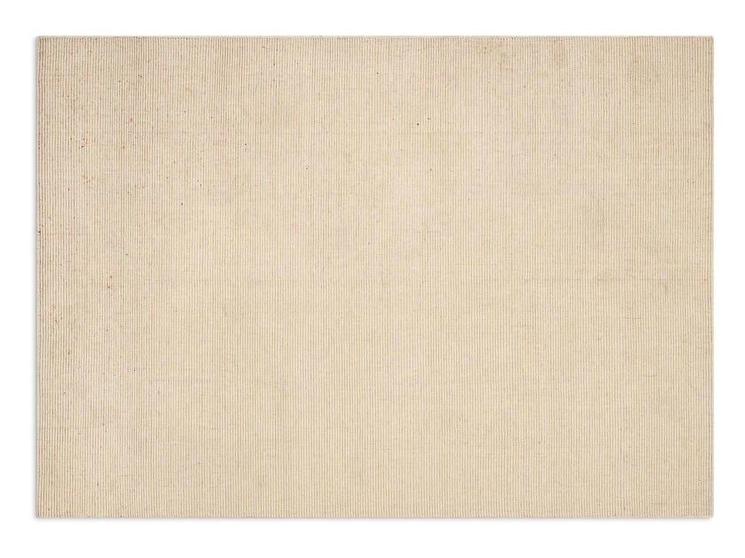 Rectangular wool rug GONG by Calligaris