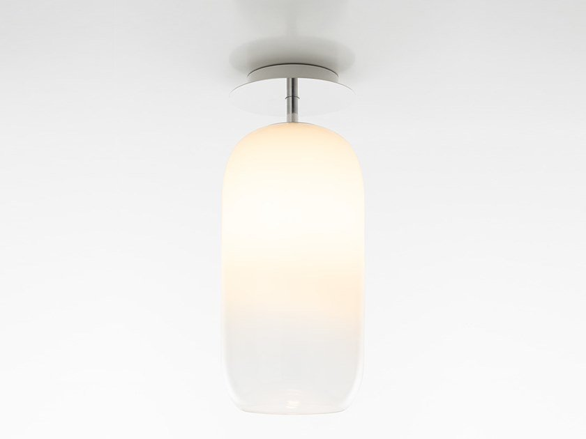 Lámpara de techo LED de vidrio soplado GOPLE | Lámpara de techo by Artemide