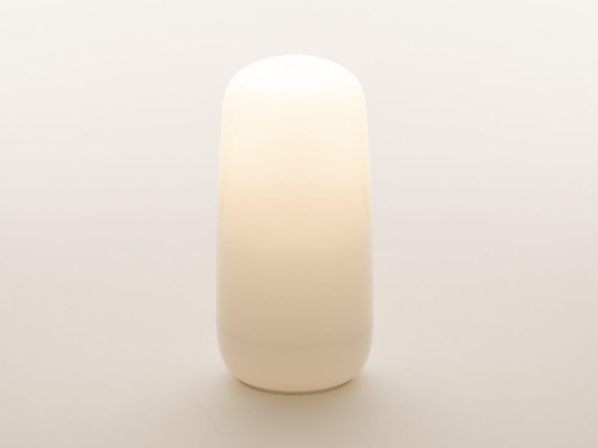 Lampada da tavolo in plastica senza fili GOPLE PORTABLE by Artemide
