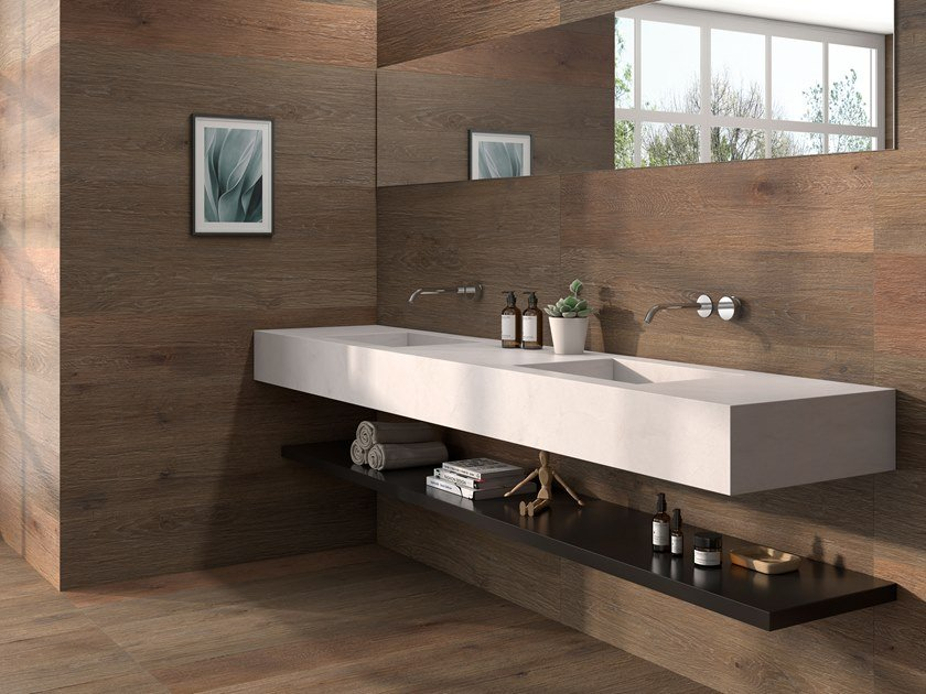 Porcelain wall/floor tiles with wood effect GORBEA by ITT Ceramic