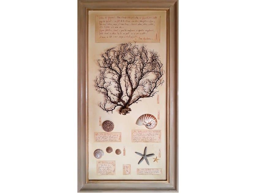 Decorative panel GORGONIA E CONCHIGLIE - 504 PK by OFFICINA NATURALIS
