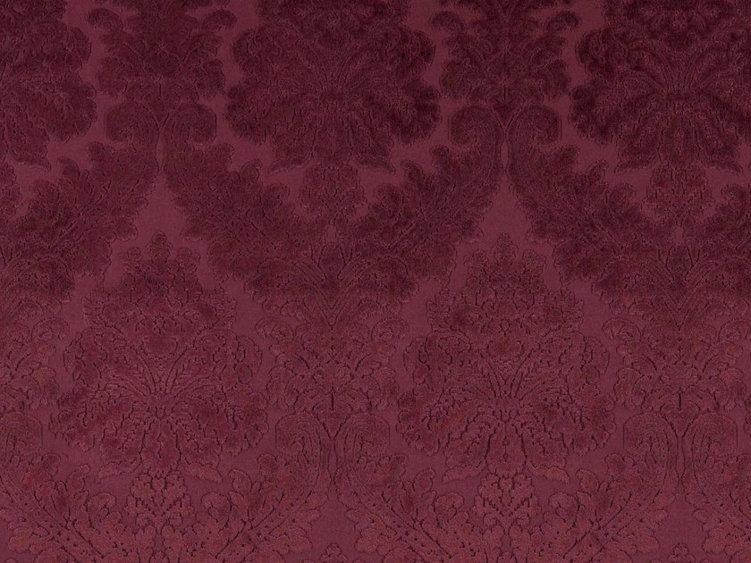 Damask velvet and polyester fabric GOSH by FR-One