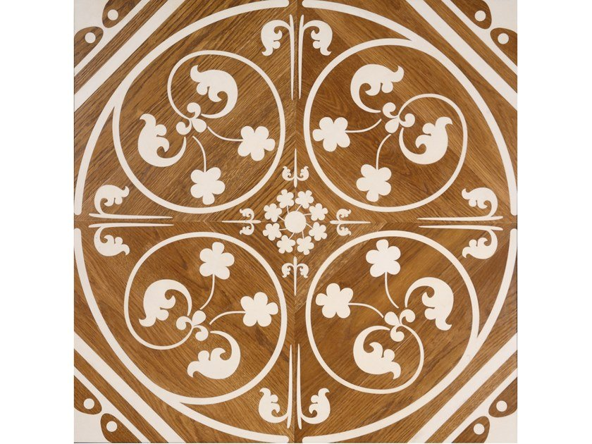Oak and maple wall/floor tiles GOTHIC INFLUENCE by Palazzo Morelli