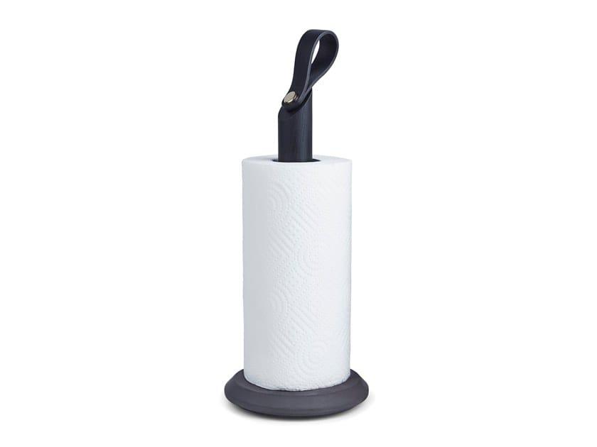 Kitchen roll holder GRAB BLACK OAK by Gejst