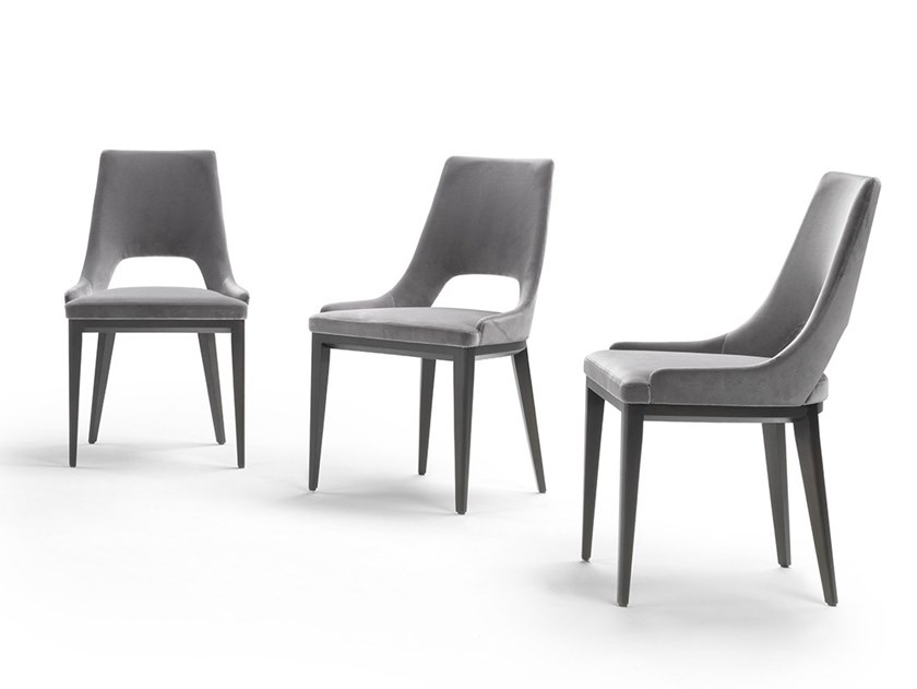 Fabric chair GRACE | Chair by Marelli