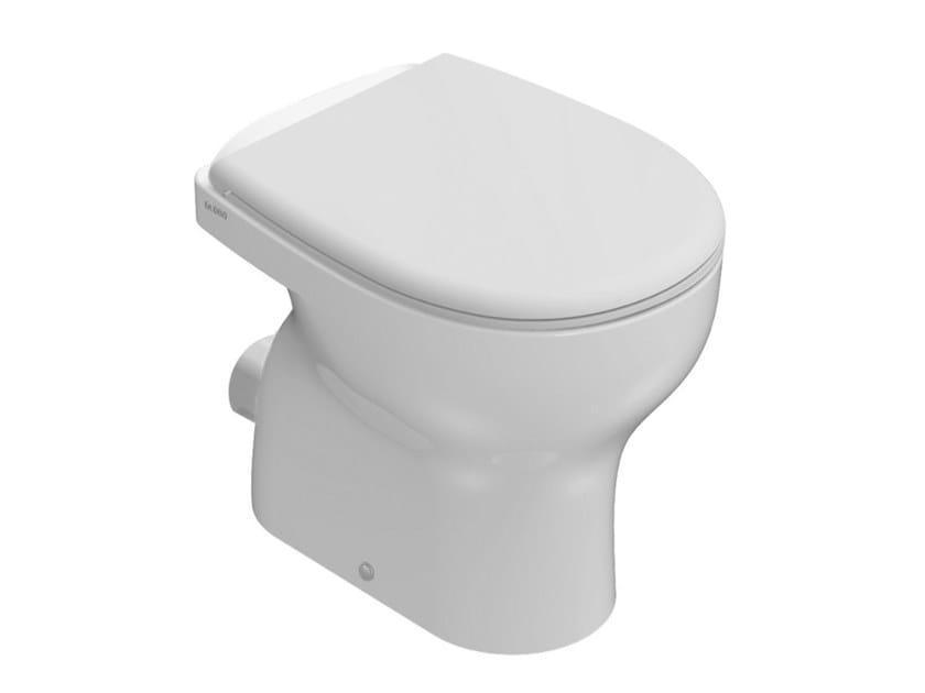 Floor mounted ceramic toilet GRACE   Floor mounted toilet by Ceramica Globo