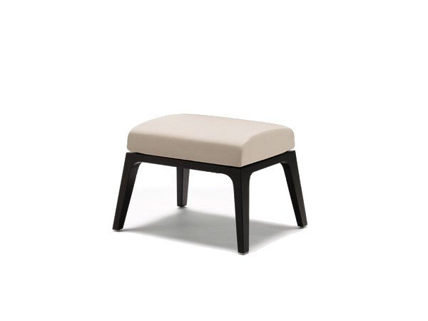 Fabric footstool GRACE | Footstool by Wiesner-Hager