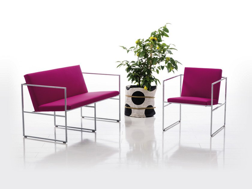 Fabric small sofa GRACE | Fabric small sofa by brühl