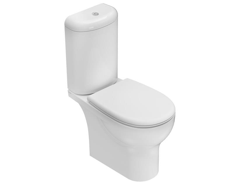 Close coupled Floor mounted ceramic toilet GRACE | Close coupled toilet by Ceramica Globo