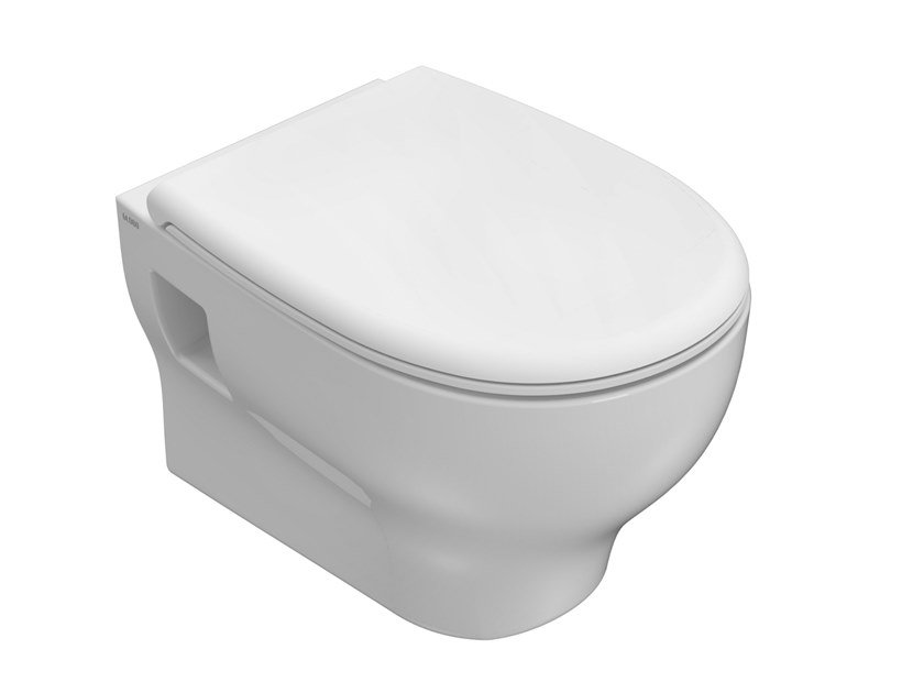 Back to wall wall-hung ceramic toilet GRACE   Wall-hung toilet by Ceramica Globo