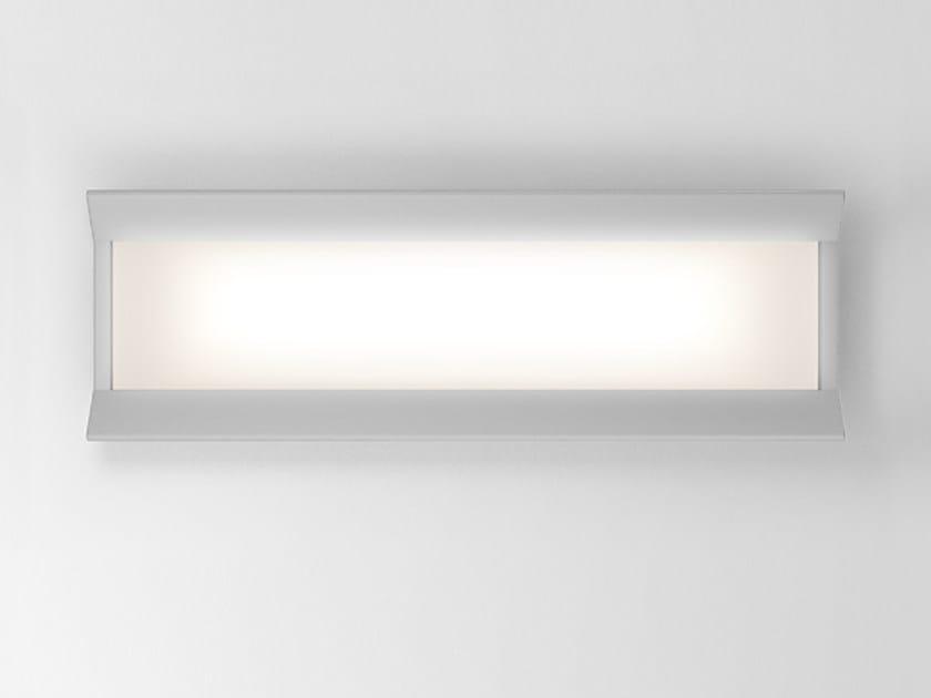 LED direct light aluminium wall lamp GRADIAN 1200 X 300   Wall lamp by Artemide
