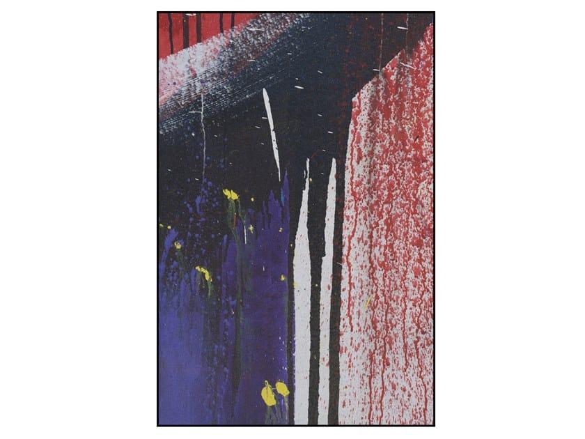 Rectangular polyamide rug GRAFFITI #1 by Mineheart