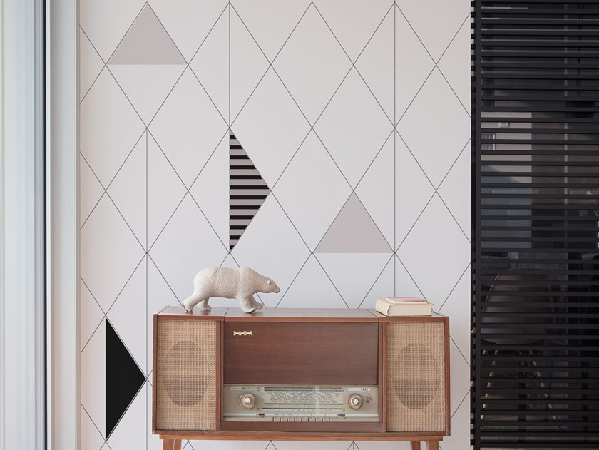 Fire retardant Digital printing wallpaper GRAFICA by NANNI GIANCARLO & C.