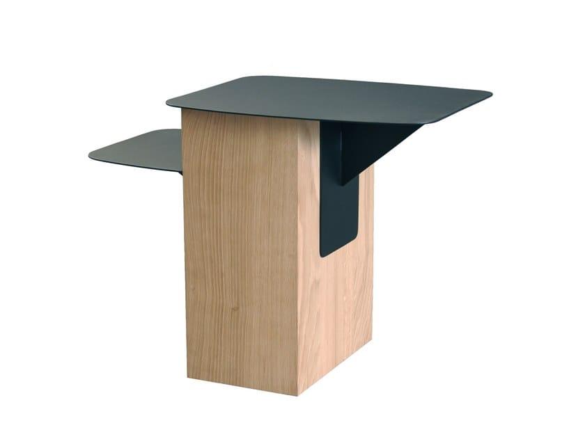 Oak side table GRAFIT L | Coffee table by RADAR INTERIOR