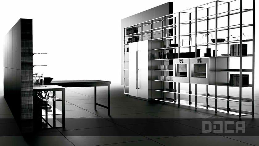 aus Stahl und Holz mit Kücheninsel GRAIN VIEJO NATURAL / FACTORY 2 ...