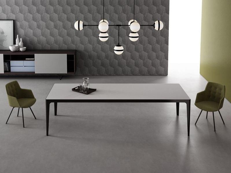 Tavolo rettangolare in metallo GRAND MORE | Tavolo rettangolare by ESTEL GROUP