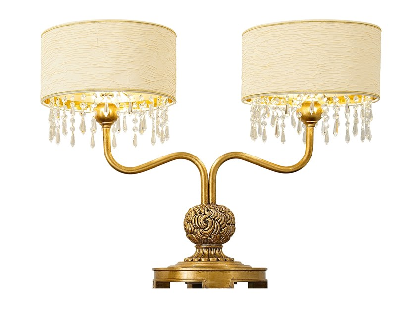Table lamp GRAND ROYAL | Imitation leather table lamp by A.R. Arredamenti