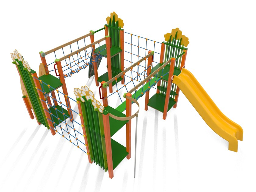 Polyethylene Play structure GRANDE CAMPO by Stileurbano