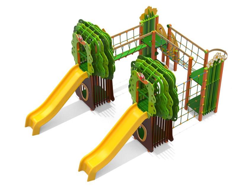 Polyethylene Play structure GRANDE FORESTA by Stileurbano