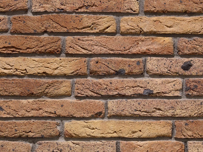 Mattone in laterizio per muratura facciavista GRANDE RÉSERVE N.8 by B&B Rivestimenti Naturali