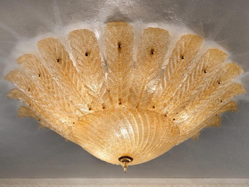 Direct light marble grit ceiling light GRANIGLIA VE 1112 | Ceiling light by Masiero