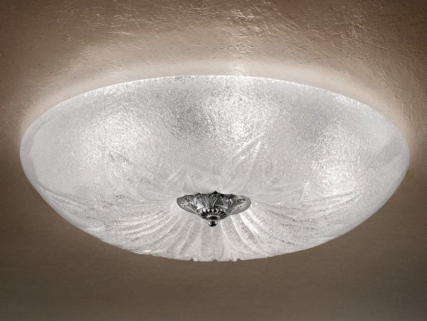 Direct light marble grit ceiling light GRANIGLIA VE 1114 | Ceiling light by Masiero