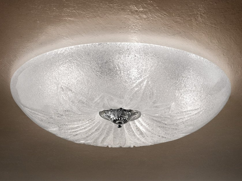 Direct light marble grit ceiling light GRANIGLIA VE 1115 | Ceiling light by Masiero