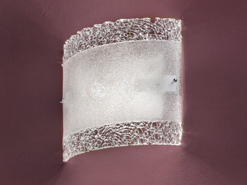 Direct light marble grit wall light GRANIGLIA VE 1138 by Masiero