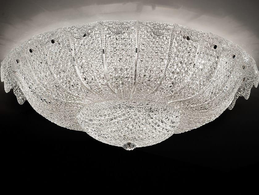 Direct light marble grit ceiling light GRANIGLIA VE 1148 by Masiero