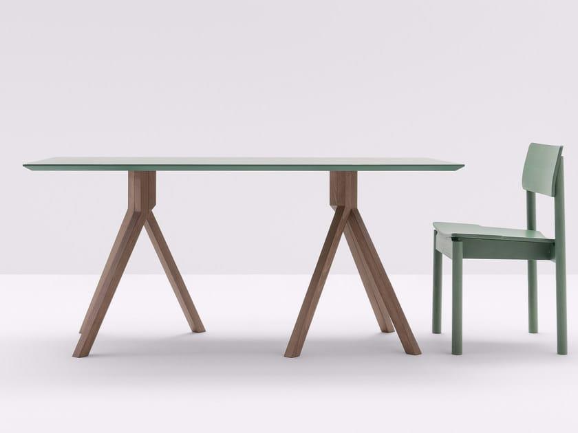 Rectangular high table GRAPEVINE | Rectangular table by BILLIANI