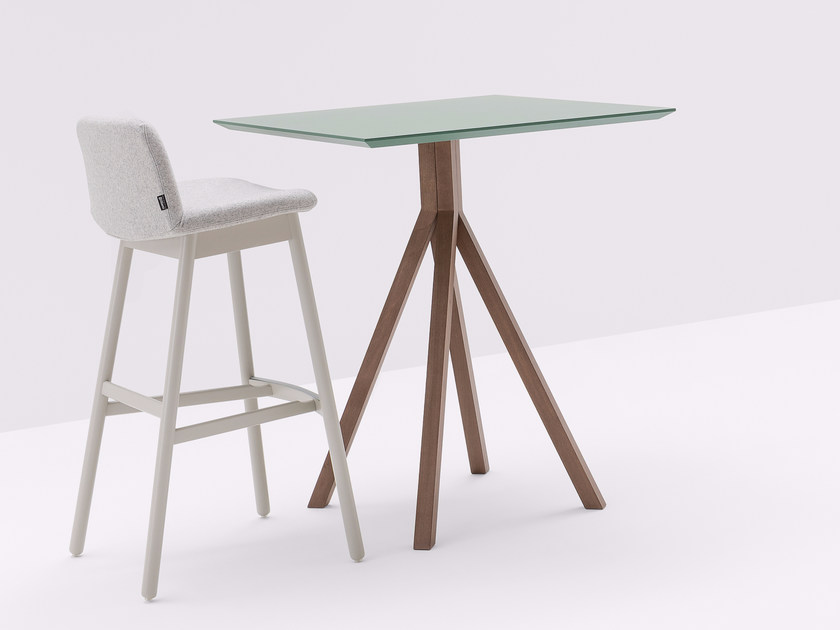 Square high table GRAPEVINE | Square table by BILLIANI