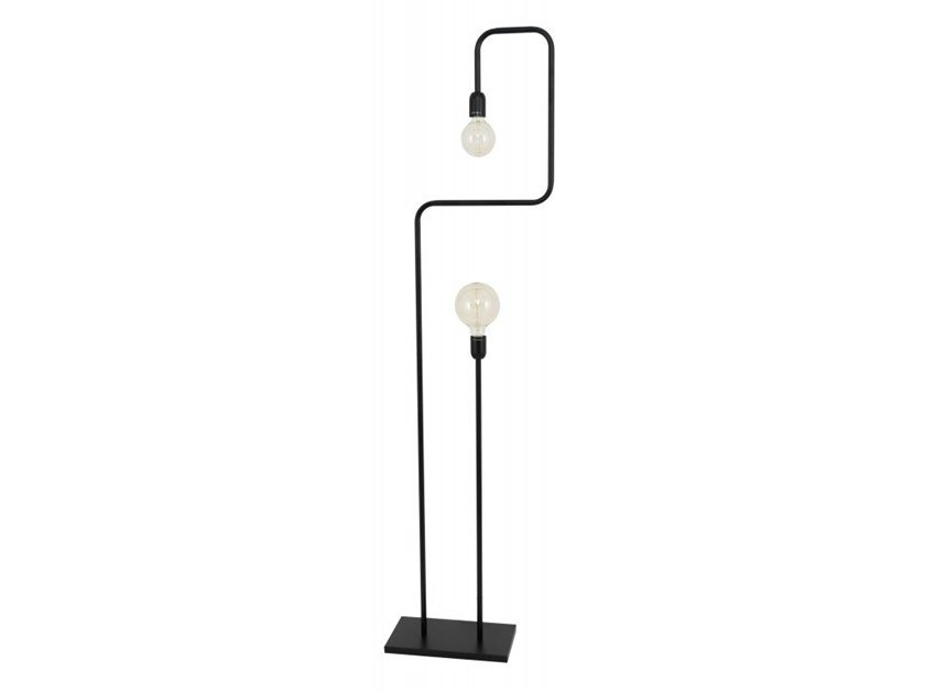 Metal floor lamp GRAPHIC by Flam & Luce
