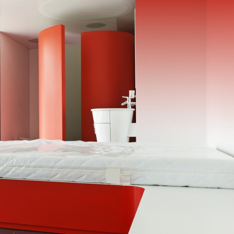 Contemporary style solid-color washable panoramic JET TEX wallpaper GRAPHIC | Grenadine by ACTE-DECO