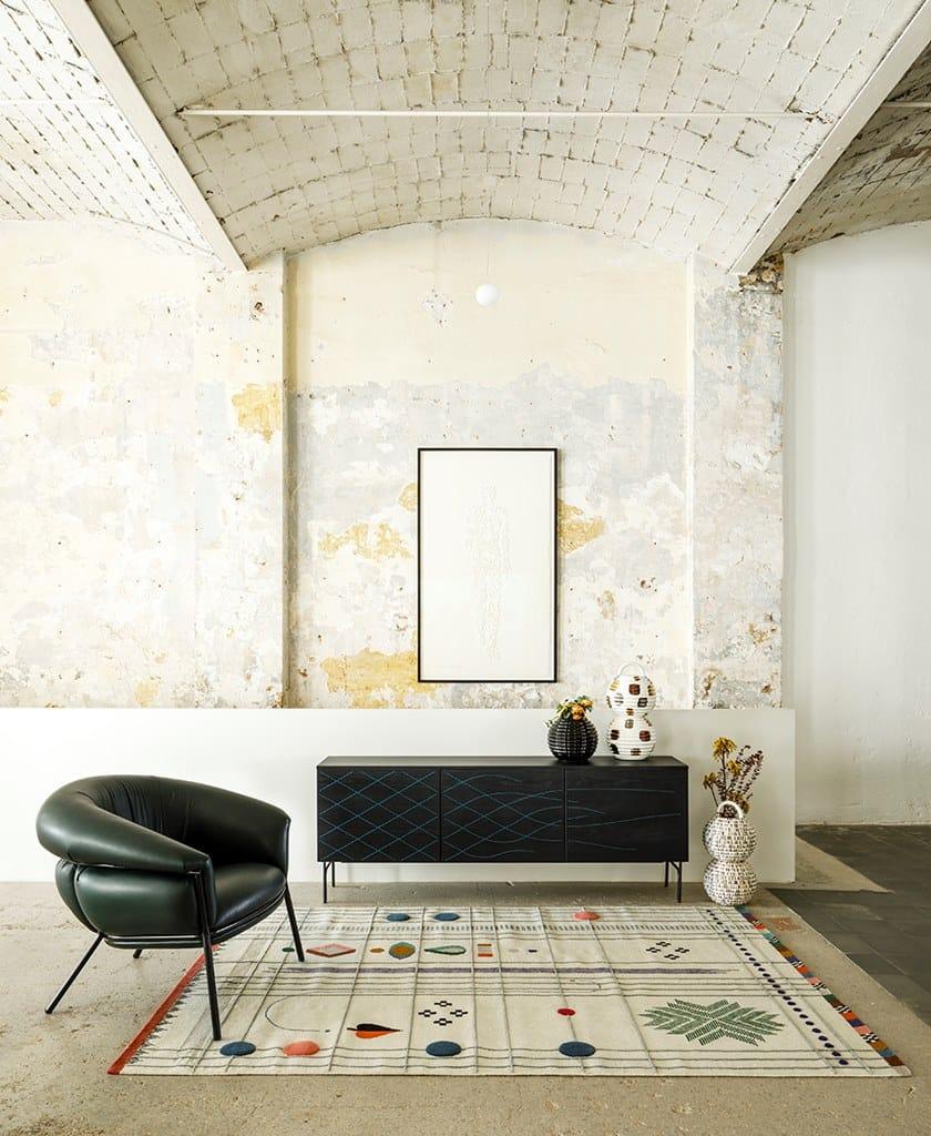 GrassoPoltrona Braccioli Bd Barcelona Design Con In Pelle TOiPkZXu