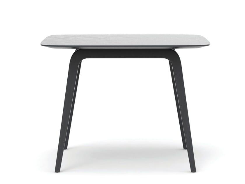 Square oak table GRATUS | Square table by Caussa