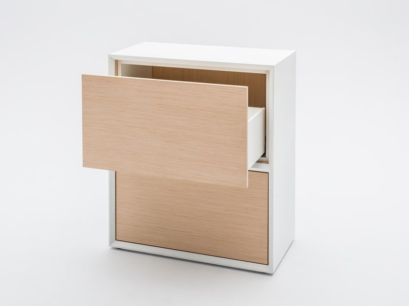 Melamine-faced chipboard office drawer unit GRAVITY | Office drawer unit by MDD