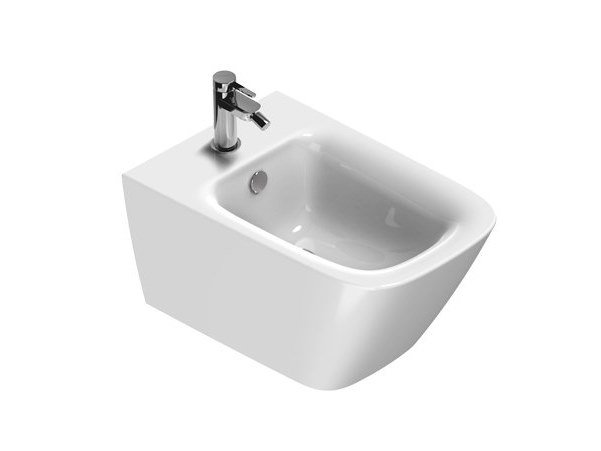Wall-hung bidet with overflow GREEN | Bidet by CERAMICA CATALANO