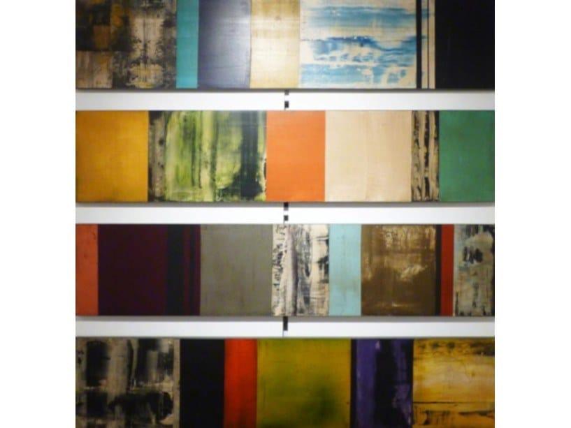 Wooden Painting Green diversity by NOVOCUADRO ART COMPANY