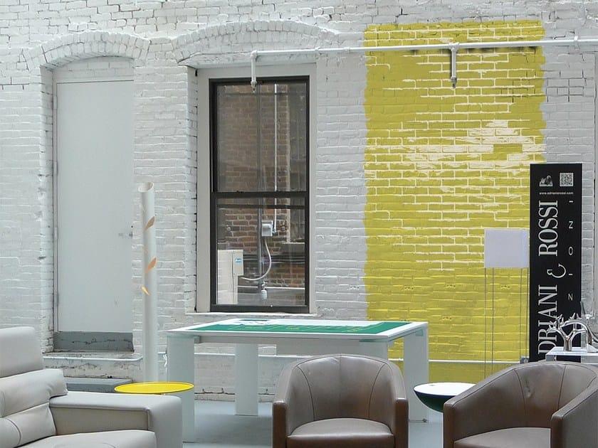 Brick effect vinyl wallpaper GREEN STREET by Adriani e Rossi edizioni