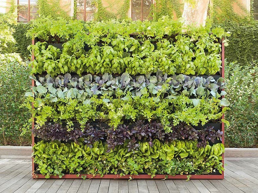 indoor vertical garden greenery by paola lenti