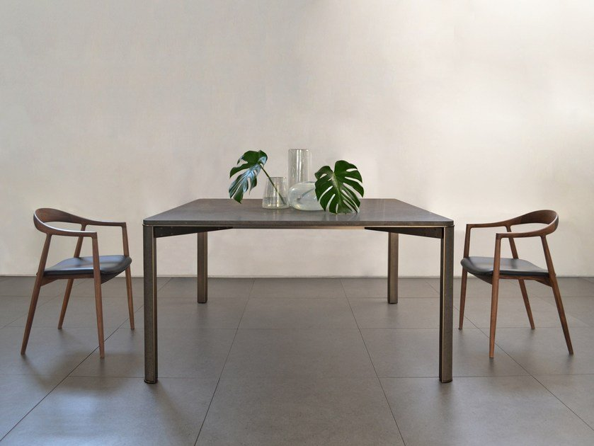 Basalt table GREGORIO | Basalt table by mg12