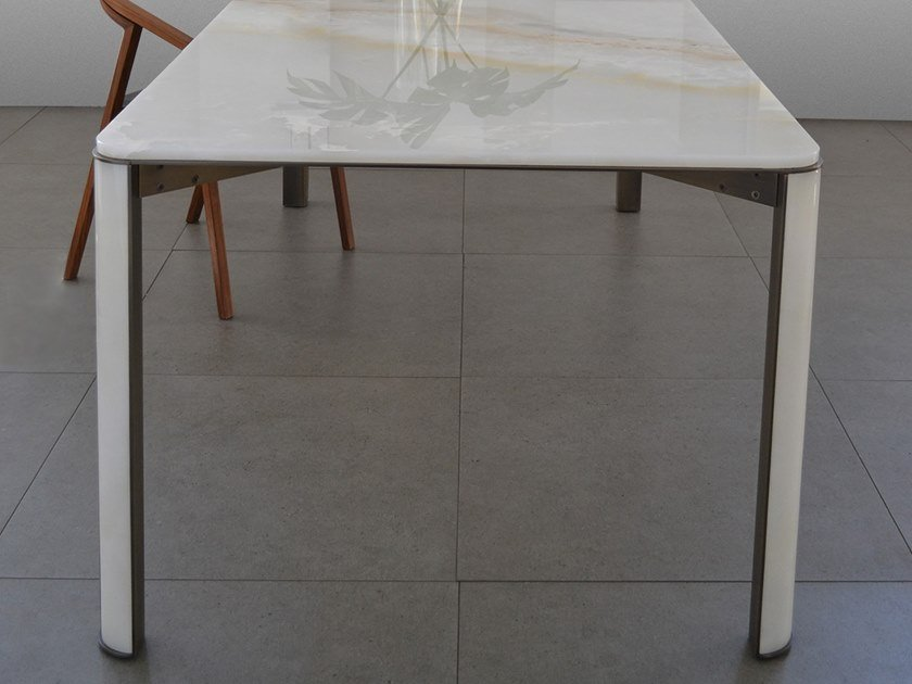 Contemporary style natural stone table GREGORIO | Onyx table by mg12
