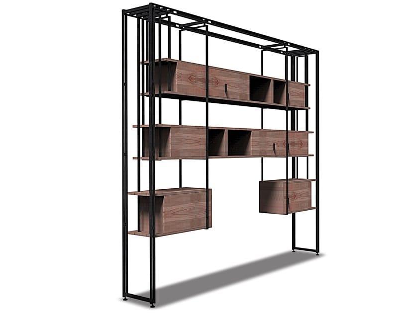 Wooden bookcase GREN | Bookcase by HEBANON