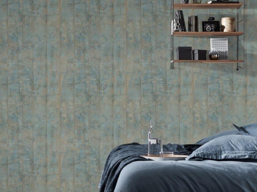 Nonwoven wallpaper GREY OAK by Koziel